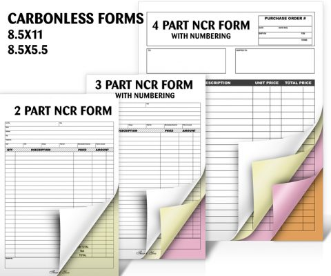 Carbonless Forms